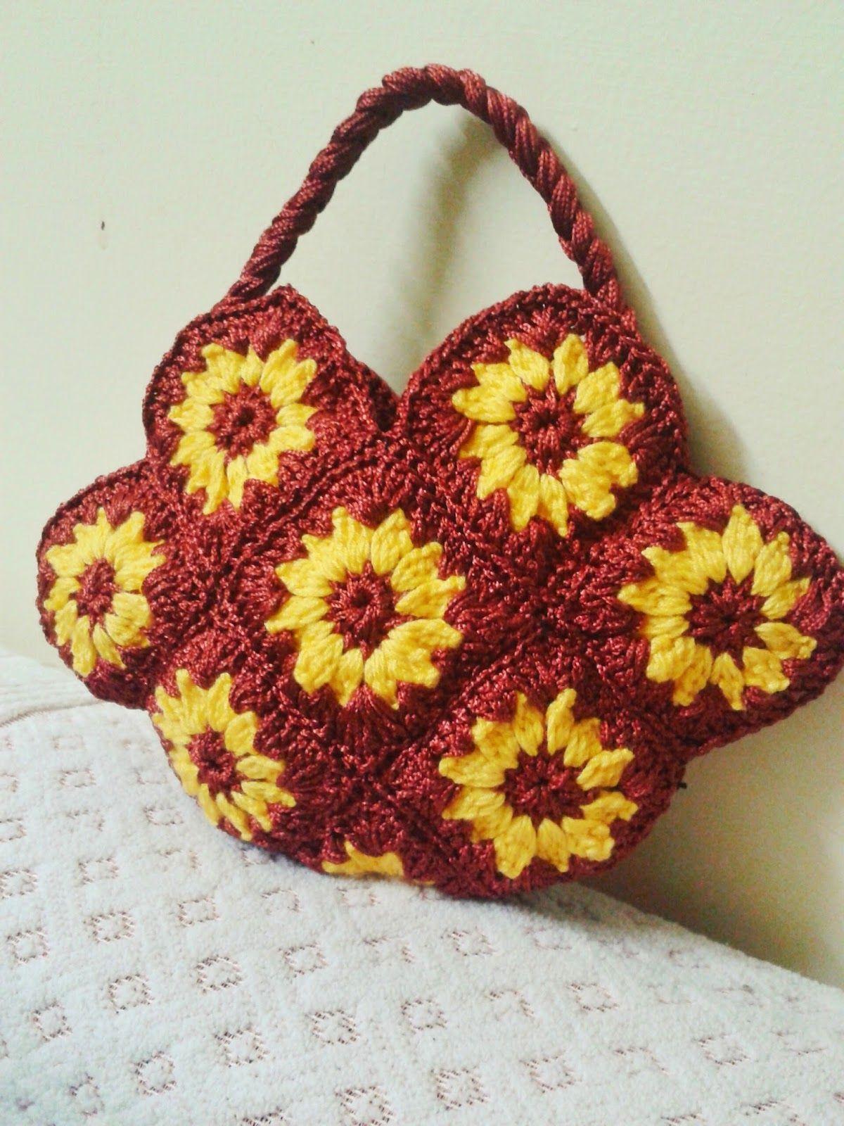 crochet bag | crochet | Pinterest | Crocheted bags, Crochet and ...
