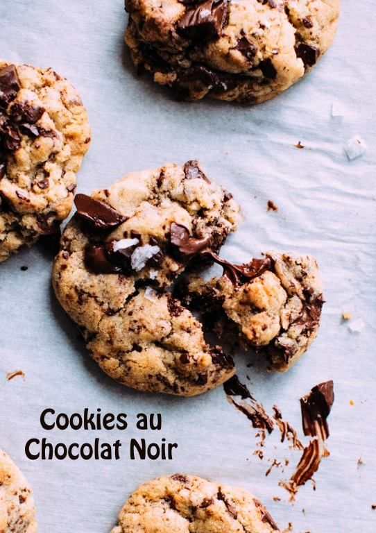 Cookies Au Chocolat Noir A Tomber Les Recettes