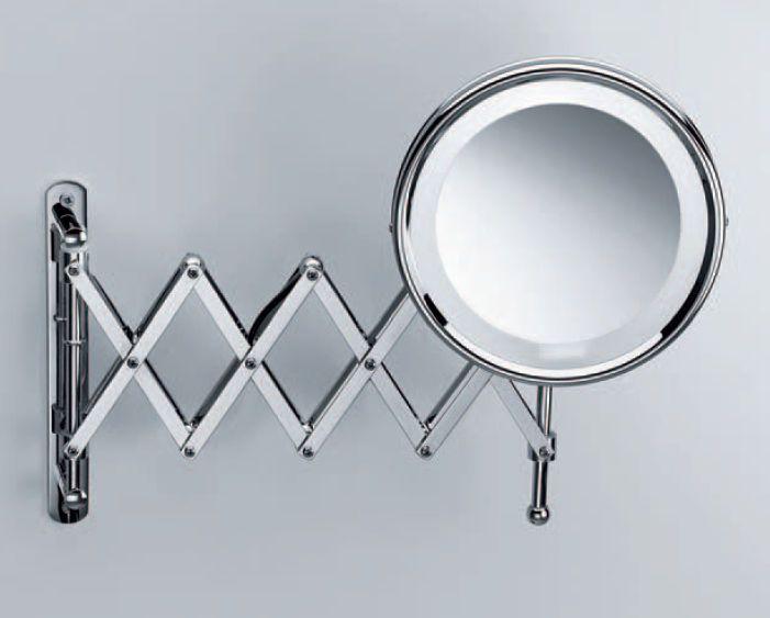 redoutable miroir grossissant mural salle de bain | décoration