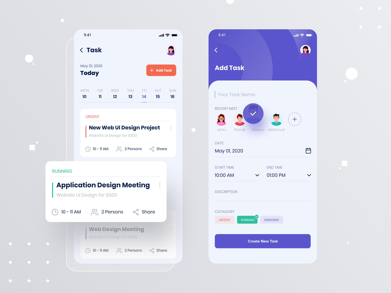 Taskito Task Management App Task Management App Mobile App Design Inspiration Task Management