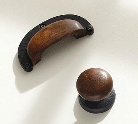 Superb Hardware: Wood Cabinet Pulls At Pottery Barn