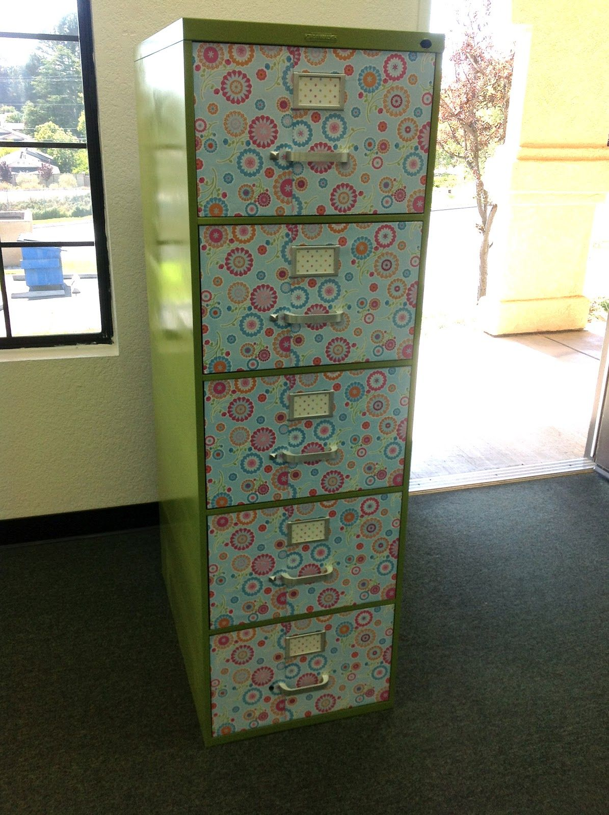 Teach on a Limb: File Cabinet Makeover and a Mod Podge Linky | For ...