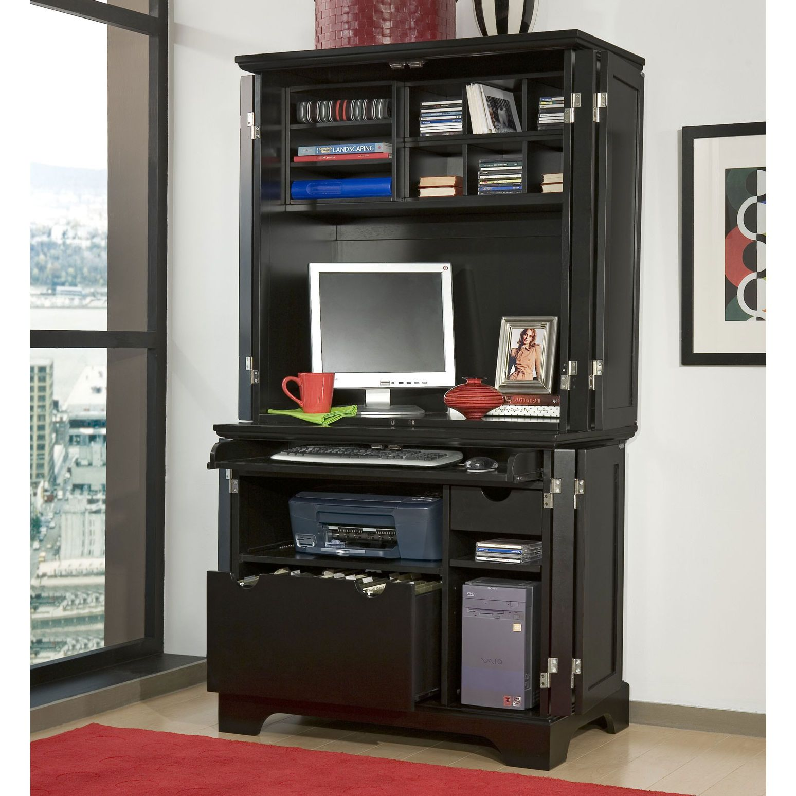 Home Styles Computer Armoirecomputer Desksoffice