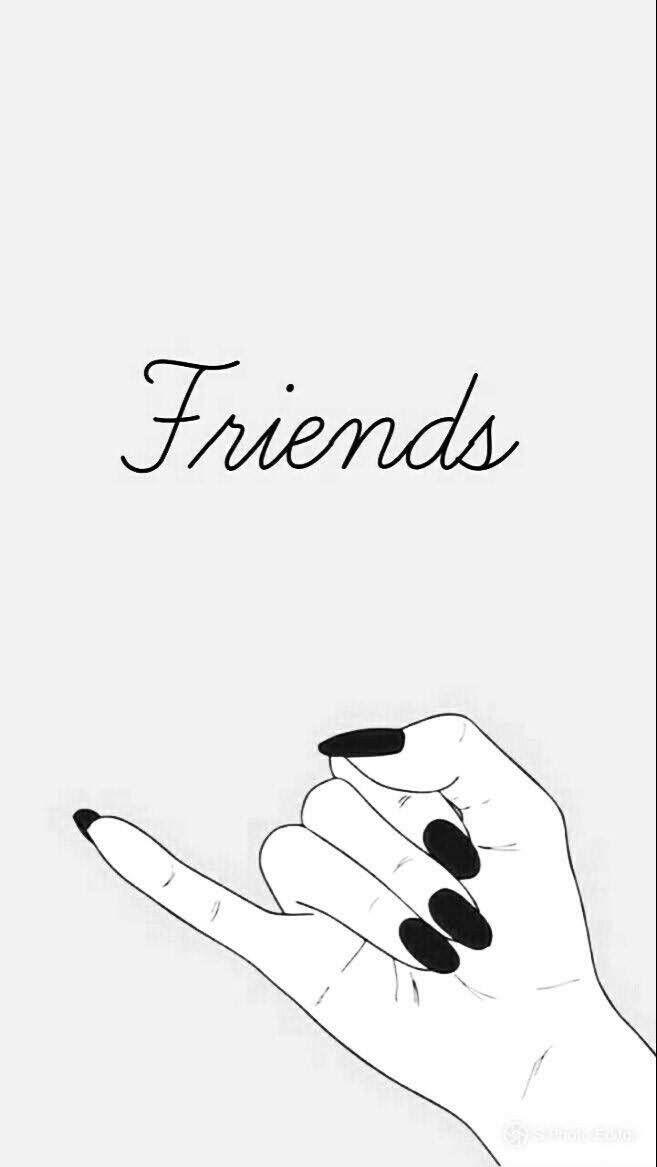 Best Friends Wallpaper Iphone Best Friends Wallpaper Iphone In 2020 Best Friend Wallpaper Friends Wallpaper Wallpaper Iphone Cute