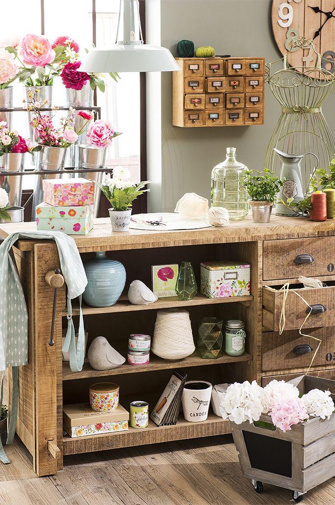 Tendance Garden Factory u2013 Comptoir des fleurs Maisons du Monde - des idees pour decorer sa maison