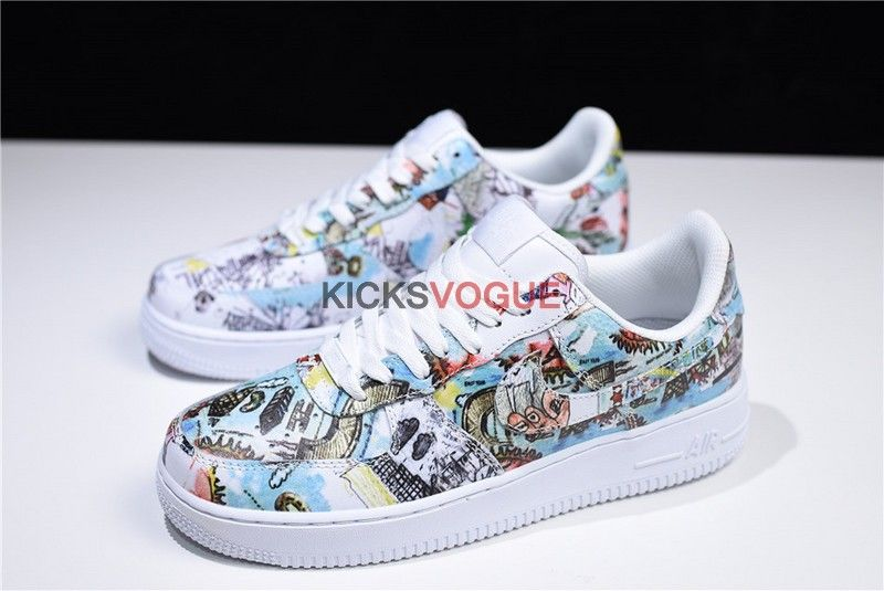 "Sketch Custom Nike Air Force1 ""Wings"" Graffiti in 2019"