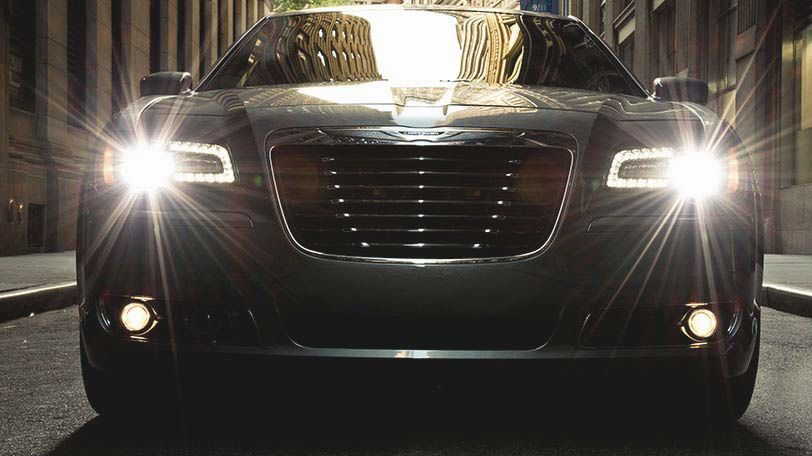 The 2014 Chrysler 300s Shown With A Black Chrome Grille And Front