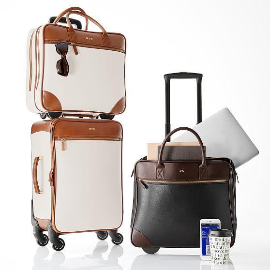 0fc1e2bb5e Concourse Rolling Briefcase  makeyourmark. Concourse Rolling Briefcase   makeyourmark Rolling Laptop Bag ...