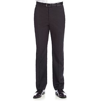 Tommy Hilfiger® Men's Black Solid Suit Separates Pants