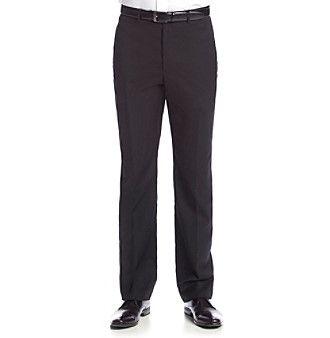 Tommy Hilfiger® Men's Black Solid Suit Separates Pants