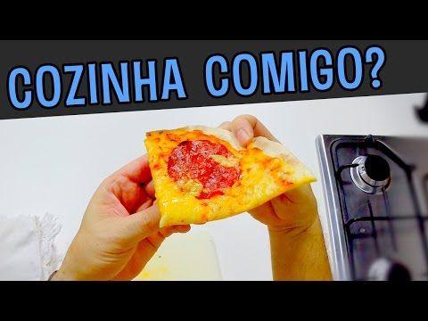 Massa de pizza Fit - Cozinha comigo? (First Person Cooking) - YouTube