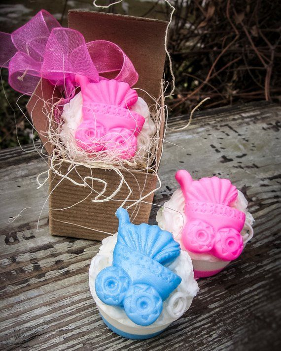 Baby Carriage Favor Soap Favor Baby Shower Baby Carriage Shower
