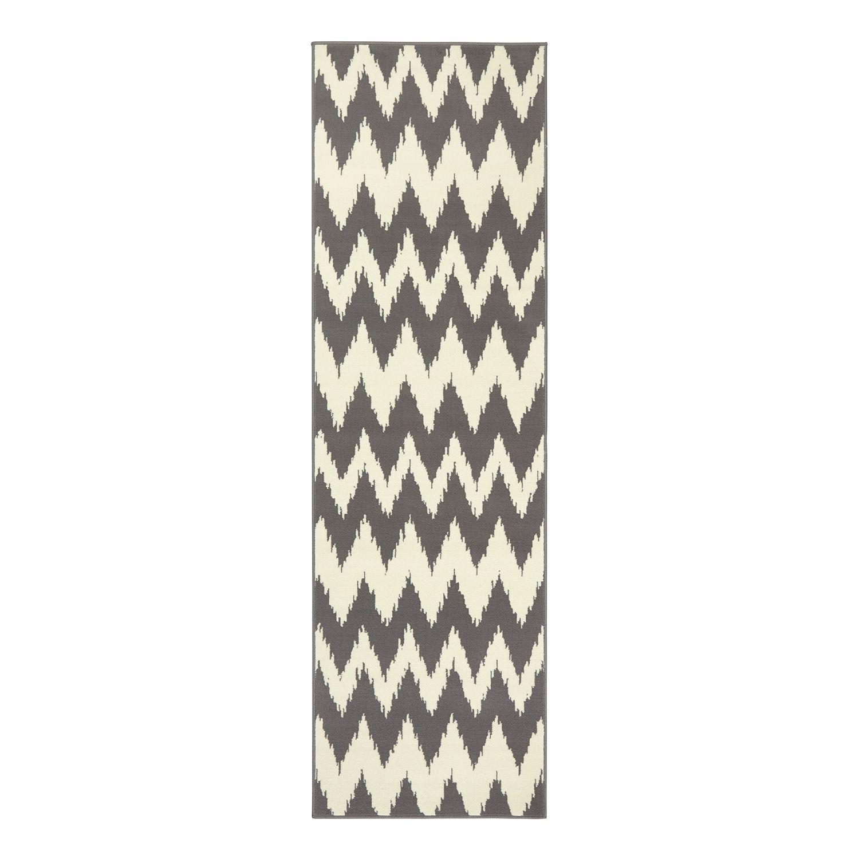 Laufer Fabric Kunstfaser Grau 80 X 300 Cm Hanse Home Collection Jetzt Bestellen Unter Https Moebel Ladendirekt Teppich Teppichformen Streifenteppich