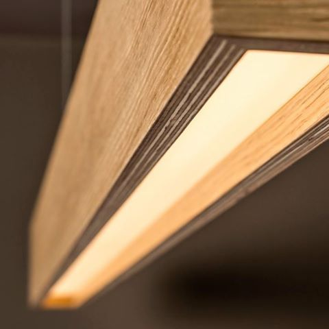 Lámpara de techo de madera TIMBER de TAL #lamparas #lamparasmodernas ...