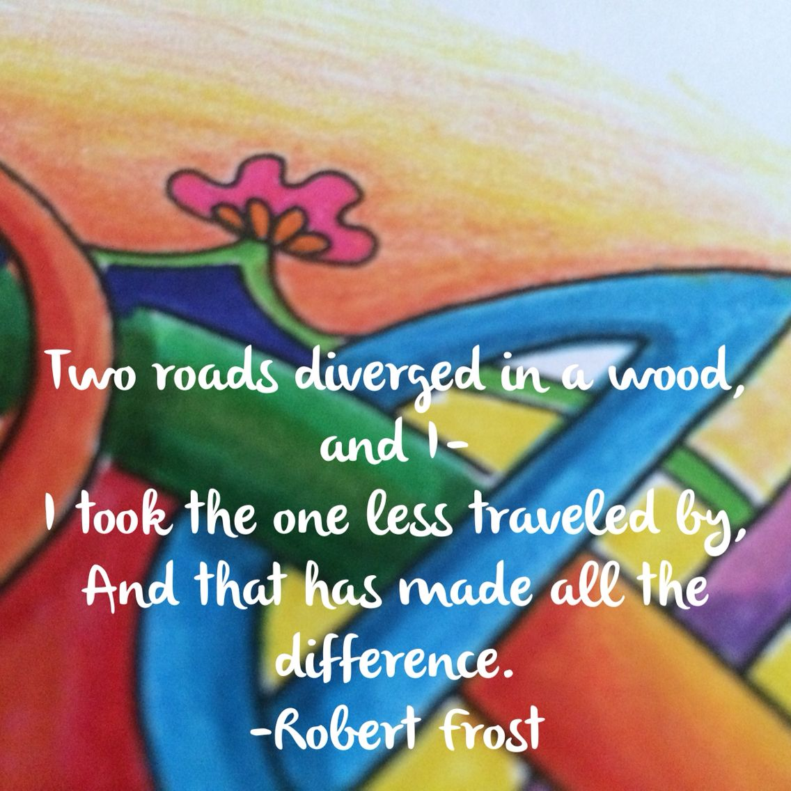 Image From Ancient Alchemy Coloring Book By Cher Kaufmann Quote Robert Frost