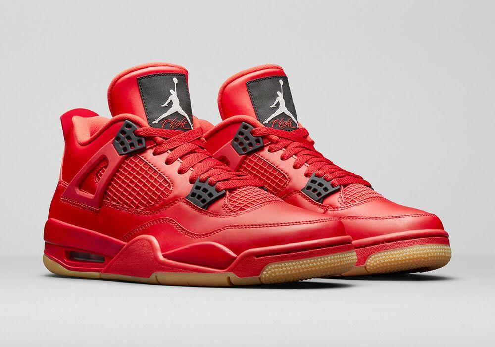 2018 WMNS Nike Air Jordan 4 IV Retro SZ 6.5 Red October