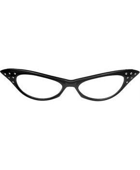 50 S Rhinestone Glasses Costumepub Com Vintage Cat Eye Glasses Glasses Nerd Glasses