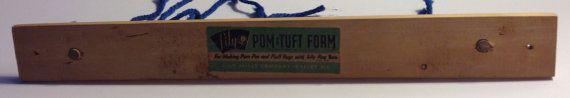 Pom Pom Maker Wood No Instructions Lily Pom & by Kathleenesque, $15.00 Sold