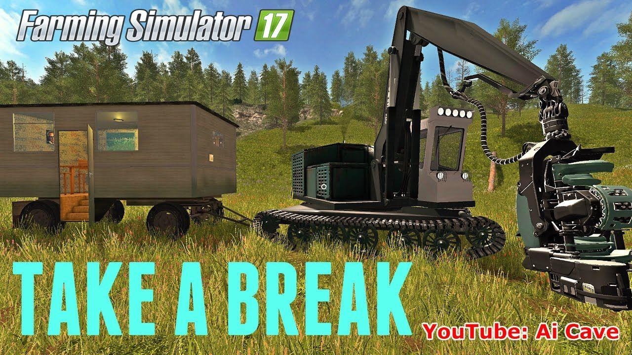Farming Simulator 2017 Mods: Logging? Take a Break - LP19 3B