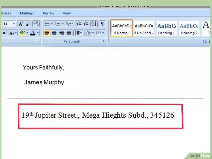 كيفية كتابة مذكرة Wikihow James Murphy Abs Jupiter