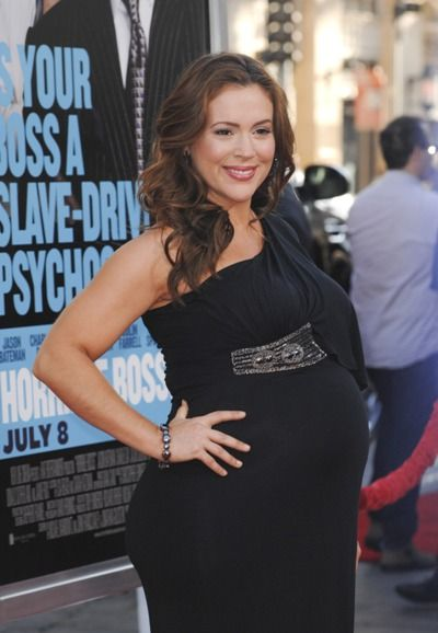 """Bellyitch: Bump Watch: Alyssa Milano at """"Horrible Bosses"""" premiere"""