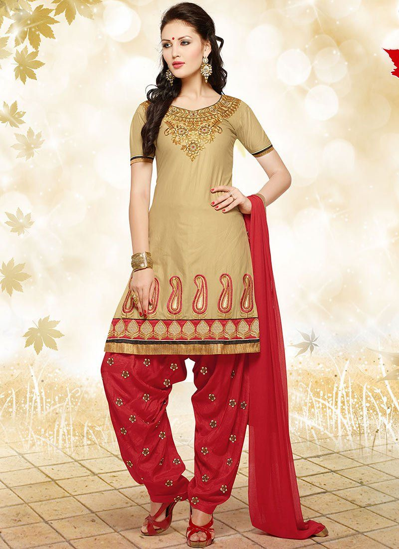 Latest Fashion of Designer Punjabi Dresses & Patiala Salwar Kameez ...