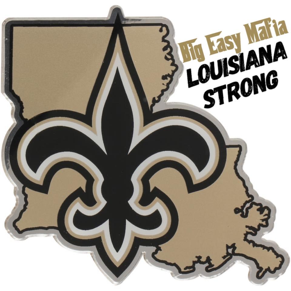 Louisiana Strong All Saints Day New Orleans Saints Louisiana