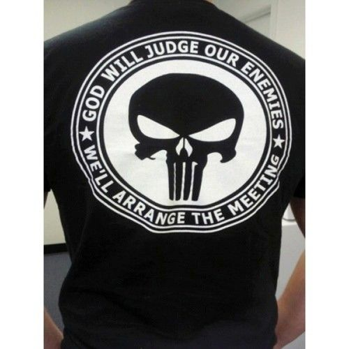 Tidewater Tactical Punisher Logo T-Shirt, Black