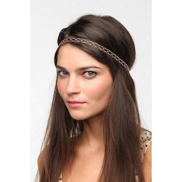 Filigree Headwrap ($12) ❤ liked on Polyvore