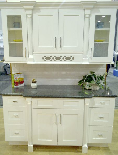 Ice White Shaker Cabinet by Kitchen Cabinet Kings at www ...