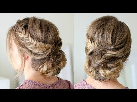 Updos Are So Fun To Wear On Special Occasions With Homecoming Coming Up Soon I Thought It D Be Fun T Easy Hairstyles Bun Hairstyles For Long Hair Hair Styles