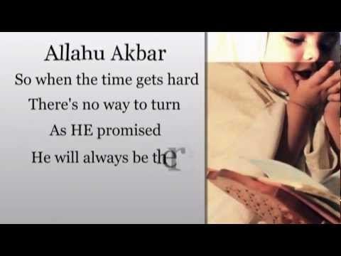 Nahla Maher Zain Allahu Akbar Lyrics Maher Zain Muslim Songs Youtube