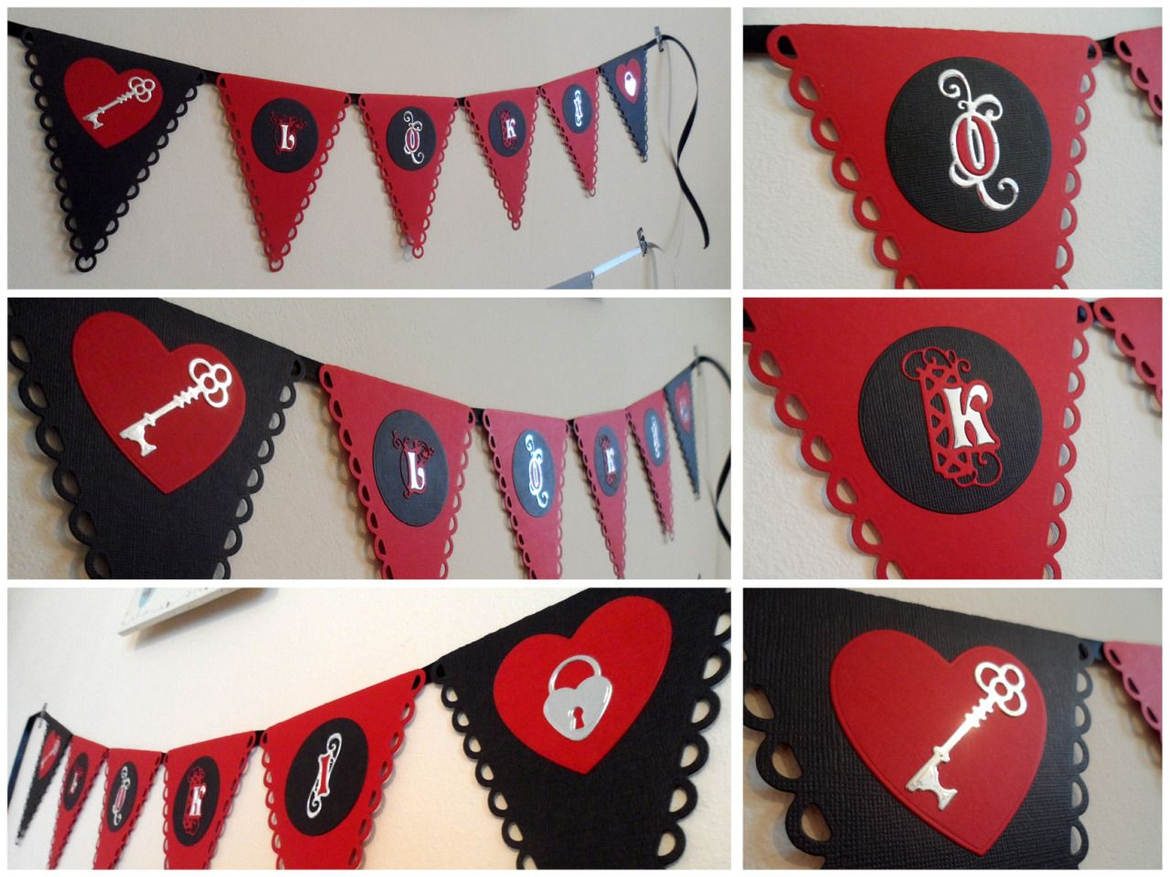 PERSONALISED banner - Fairy Tale paper bunting with illuminated lettering, choose word, choose colours. #fairytale #bunting #personalise