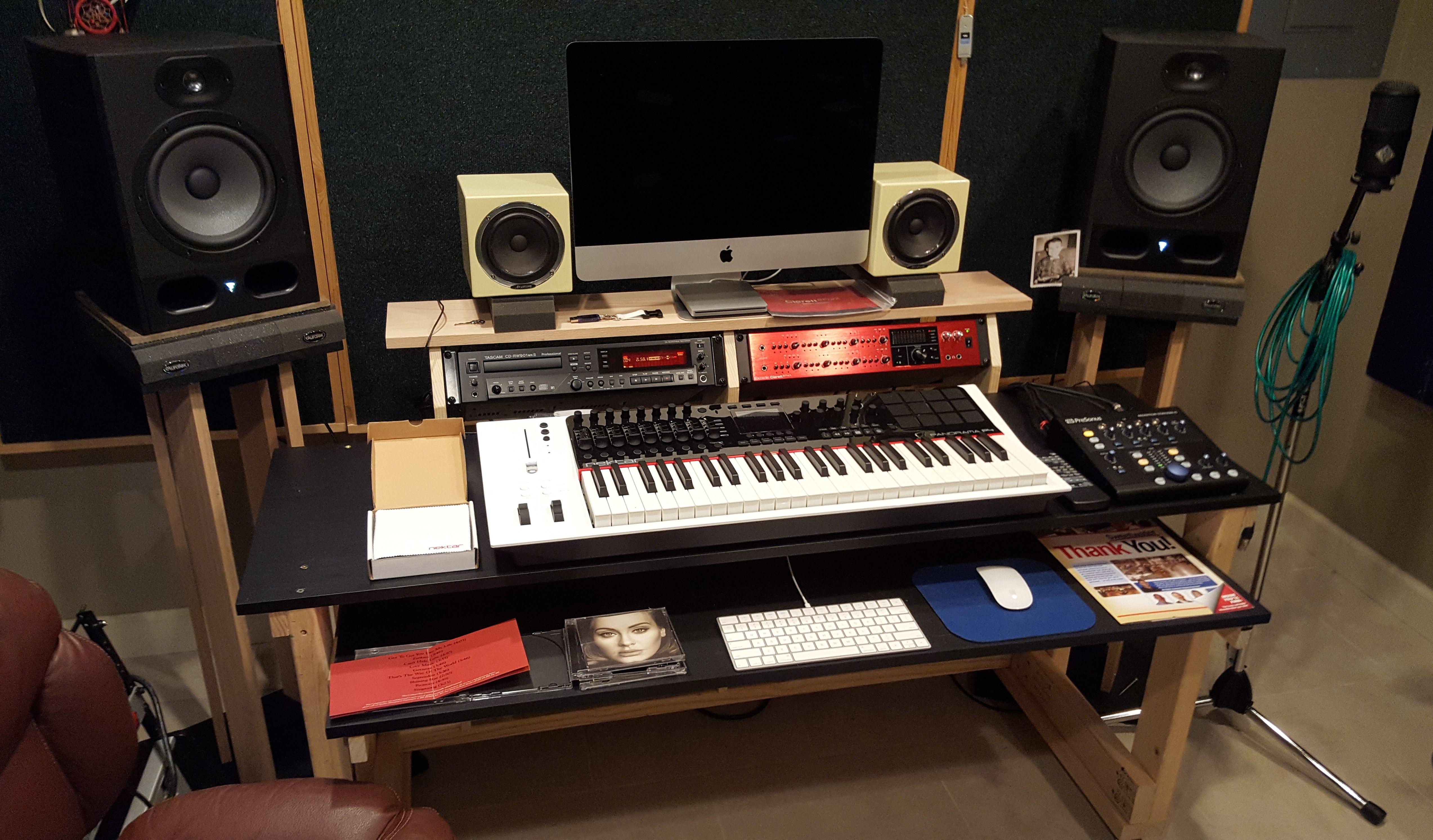 October 2016 New Studio Desk New Desk Design