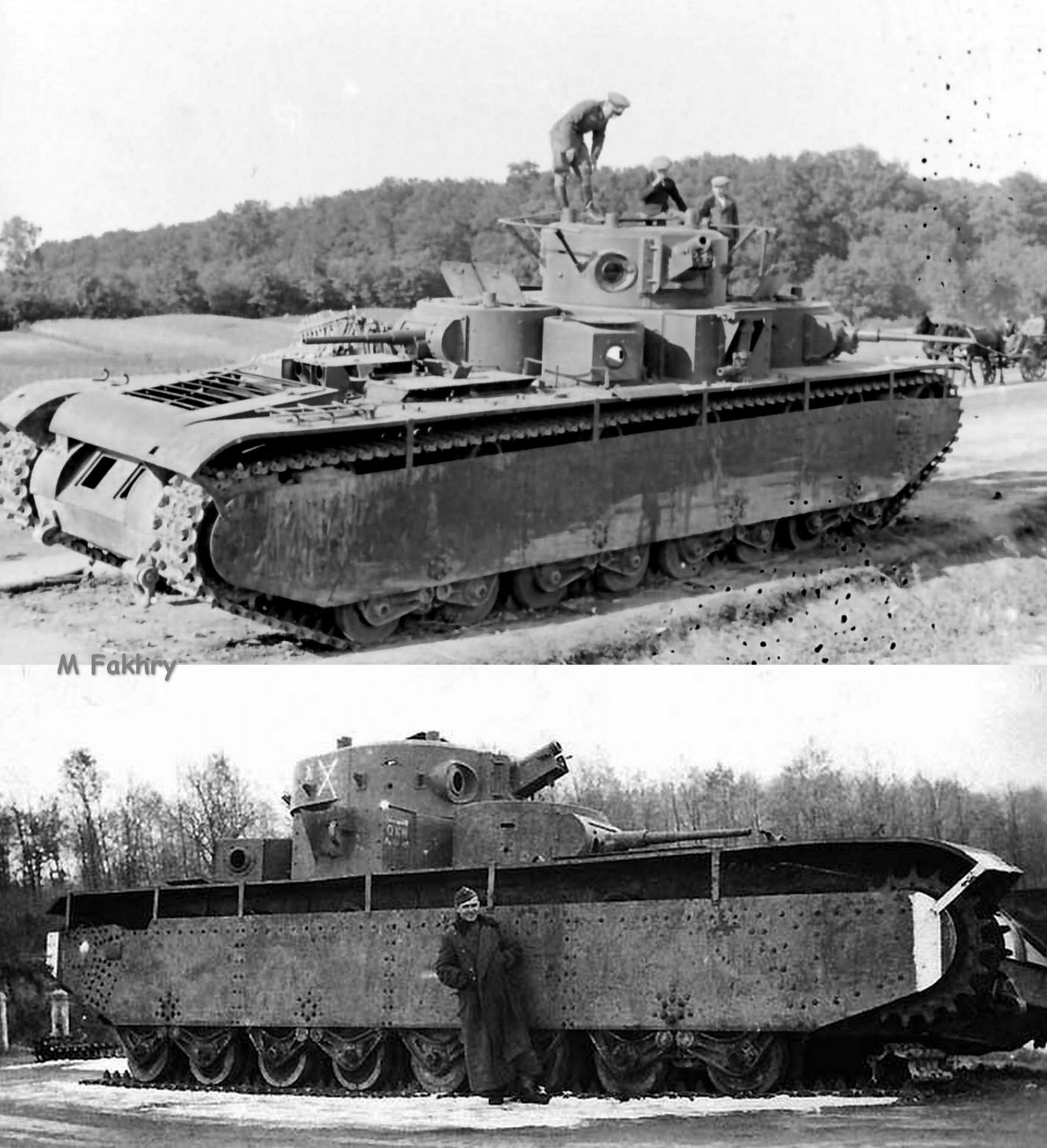 Russian tanks of the early twentieth century 22