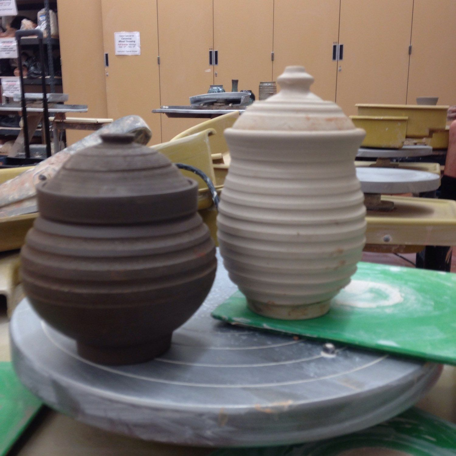 Ready to be bisque fired.