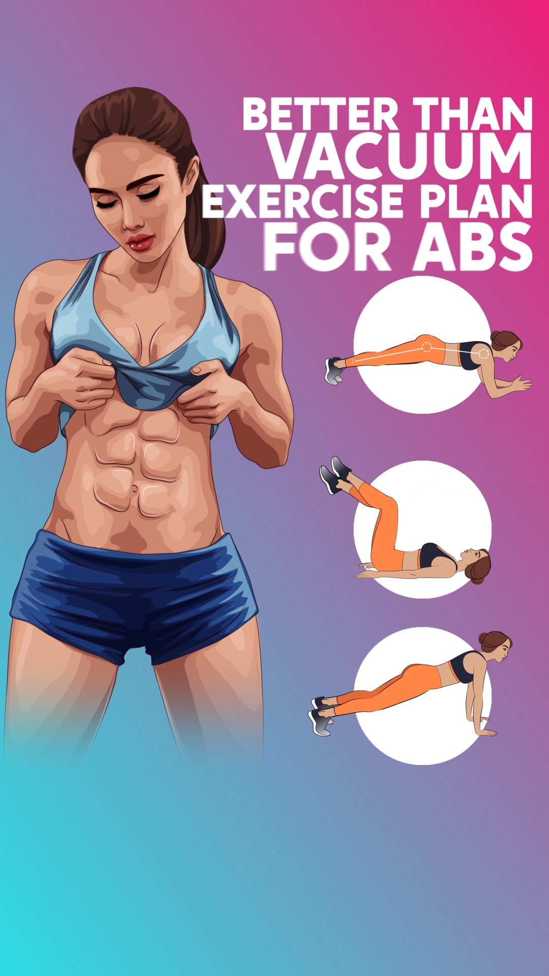 6Minute ABS Workout To Lose Belly Pooch A workout for you to get perfect ABS Exercises were created to reduce the size of the belly quick and easy Do it and enjoy the res...
