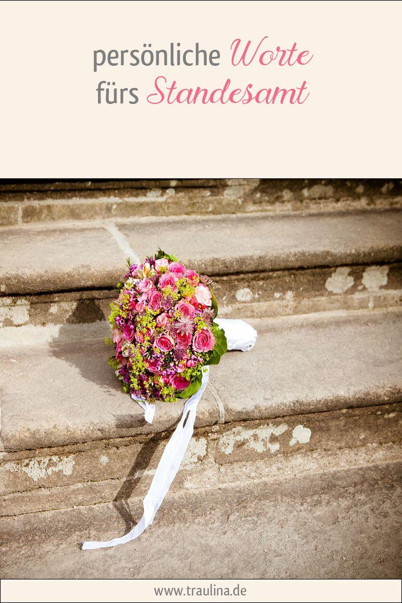 Personliche Worte Furs Standesamt Personliche Worte Zur Hochzeit Rede Hochzeit Standesamtliche Trauung