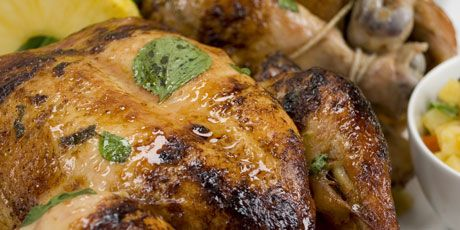 Rotisserie chicken marinaded in orange pineapple basil recipe rotisserie chicken marinaded in orange pineapple basil forumfinder Choice Image