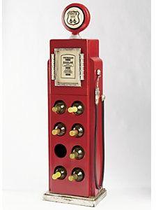 Route 66 Gas Pump Wine Cabinet