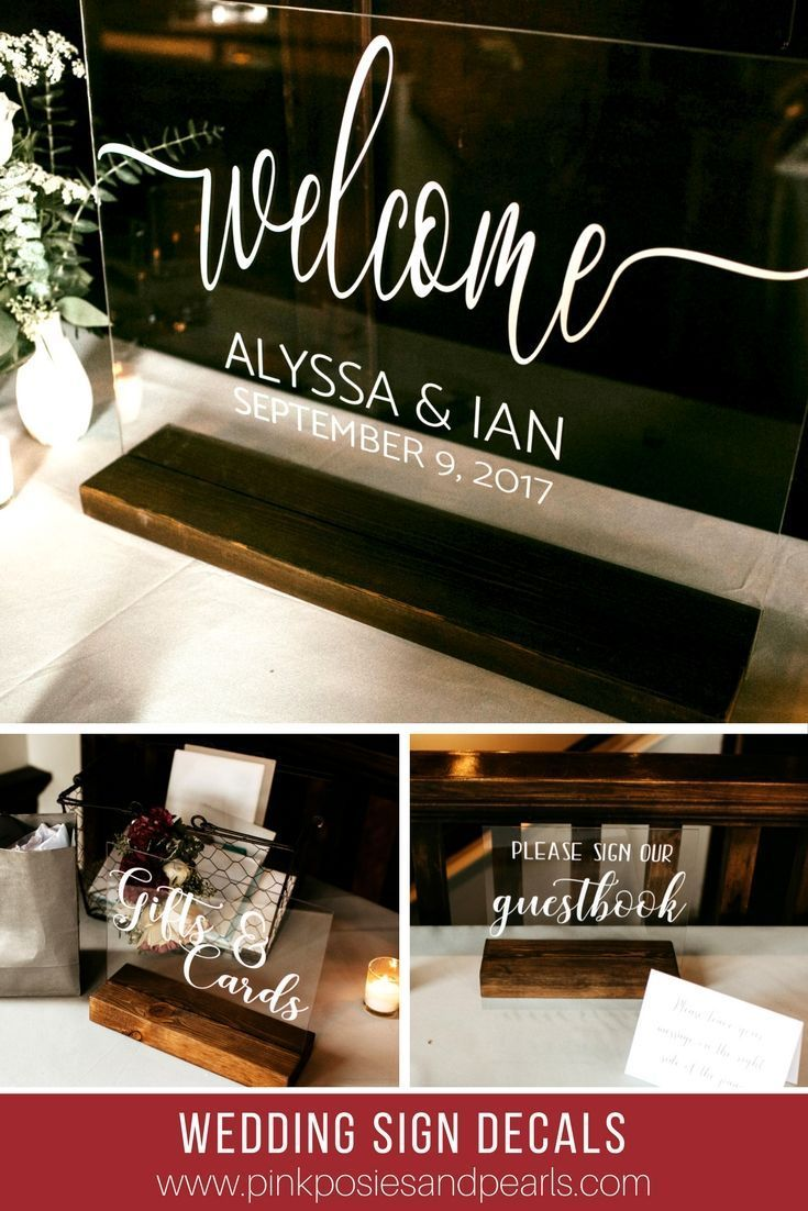 Wedding welcome sign decal rustic wedding welcome sign decal only wedding welcome sign decal rustic wedding welcome sign decal only wedding welcome sign do it yourself wedding welcome sign wedding wedding and solutioingenieria Image collections
