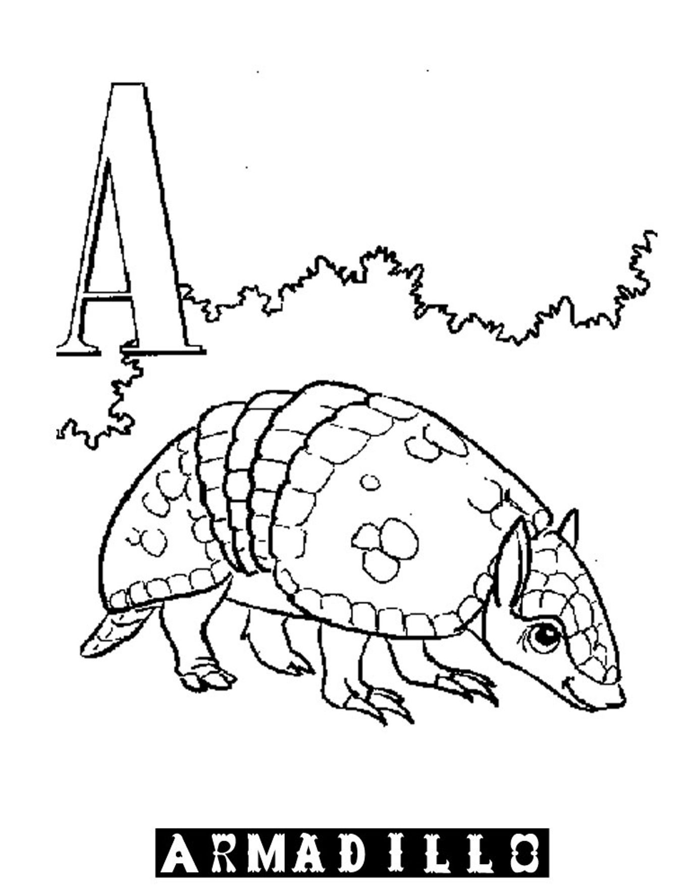 Download And Print Alphabet Coloring Pages Printable A For