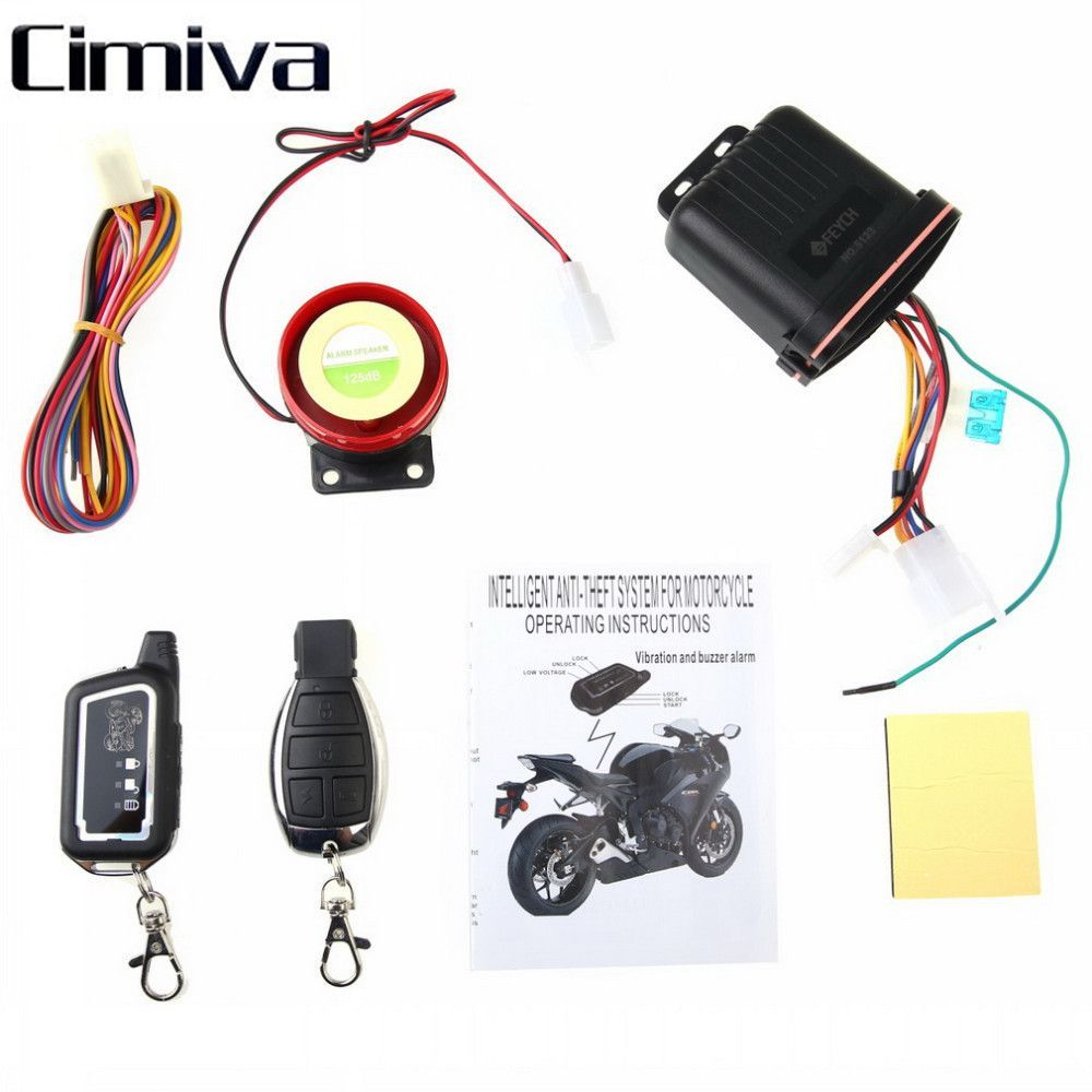 Alarm System For Motorcycle