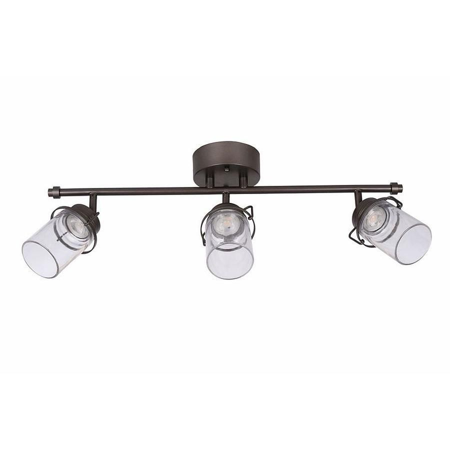 Allen roth valleymeade 3 light 245 in bronze dimmable led track allen roth valleymeade bronze dimmable led track bar fixed track light kit at lowes from minimalist to industrial this beautiful led track light kit in aloadofball Choice Image