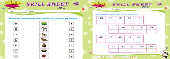 UKG Worksheets Free Download | Worksheets, Moral stories for ...