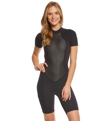 O Neill Women S 2 1mm Bahia Short Sleeve Springsuit Wetsuit At Swimoutlet Com The Web S Most Popular Swim S Wetsuit Fashion Springsuit Wetsuit Womens Wetsuit