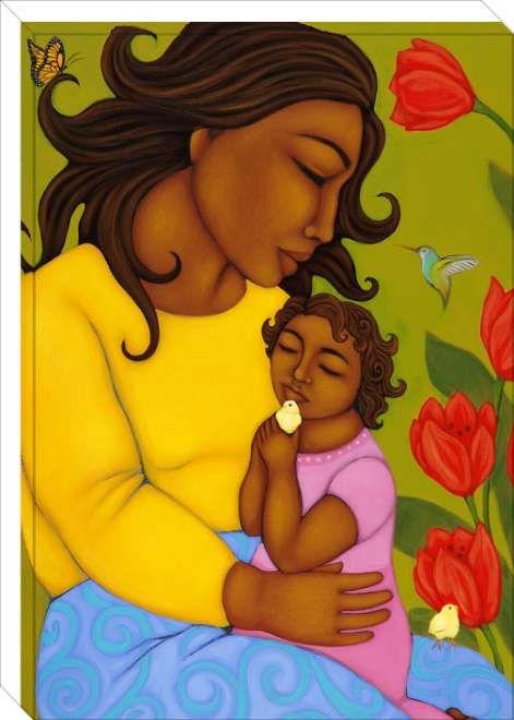 Mother and Child Artist: Tamara Adams
