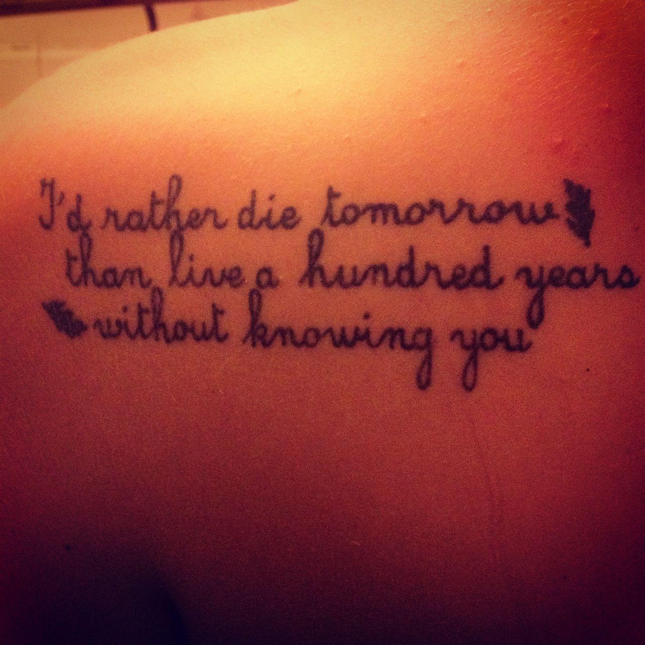 Pocahontas quote tattoo. LOVE | Quotes | Disney tattoos ...