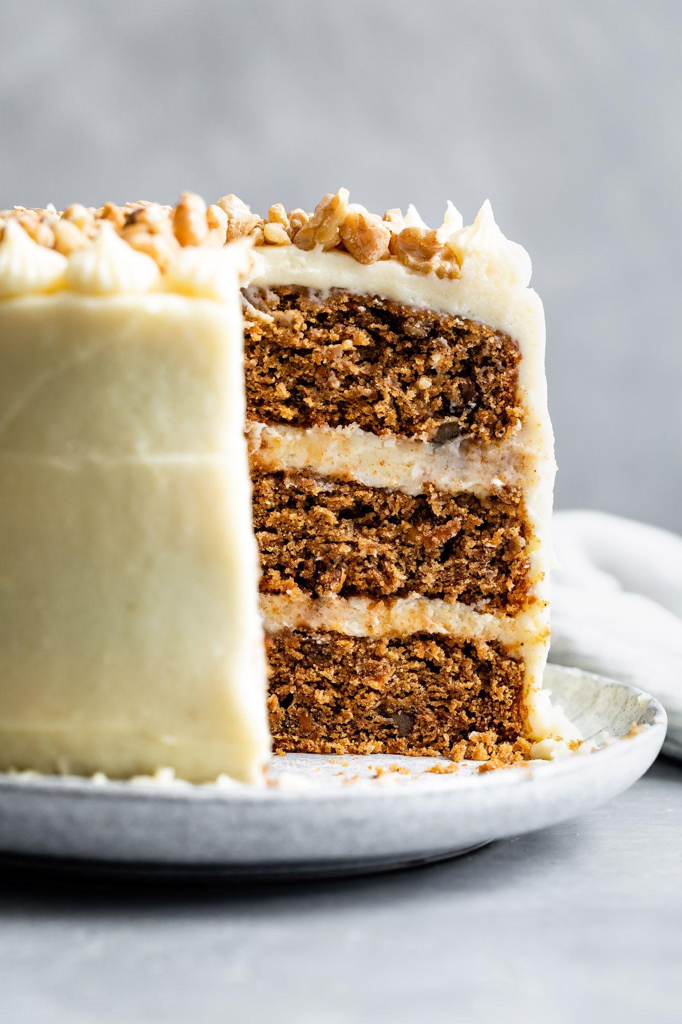 Gluten Free Carrot Cake Recipe In 2020 Gluten Free Carrot Cake Dessert Recipes Carrot Cake