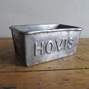 Small Hovis Tins